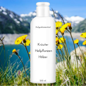 """Saunaduft Alpenkräuter 250 ml """"Kräuter Heilpflanzen Hölzer"""""""