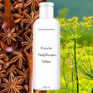 """Saunaduft Fenchel-Anis 250 ml """"Kräuter Heilpflanzen Hölzer"""""""