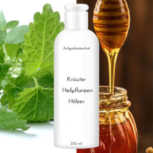 """Saunaduft Honig-Melisse 250 ml """"Kräuter Heilpflanzen Hölzer"""""""
