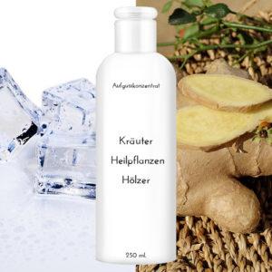 """Saunaduft Eis-Ingwer 250 ml """"Kräuter Heilpflanzen Hölzer"""""""