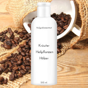 "Saunaduft Kaffee 250 ml ""Kräuter Heilpflanzen Hölzer"""
