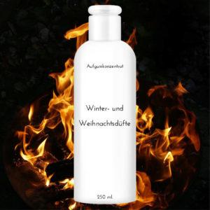 """Saunaduft Kaminfeuer 250 ml """"Winter und Weihnachtsdüfte"""""""