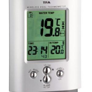 Funk-Thermometer MIAMI WIRELESS 2-teilig für Schwimmbäder und Teiche