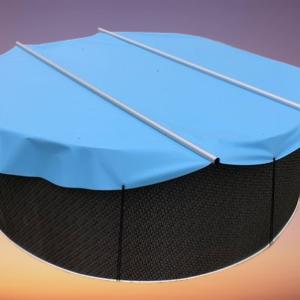 Rundpool -Sicherheitsabdeckung / Poolgröße 400 cm rund