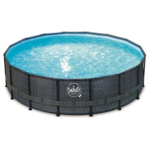 ELITE – WICKER FRAME SWING Pools (549 x 132 cm)