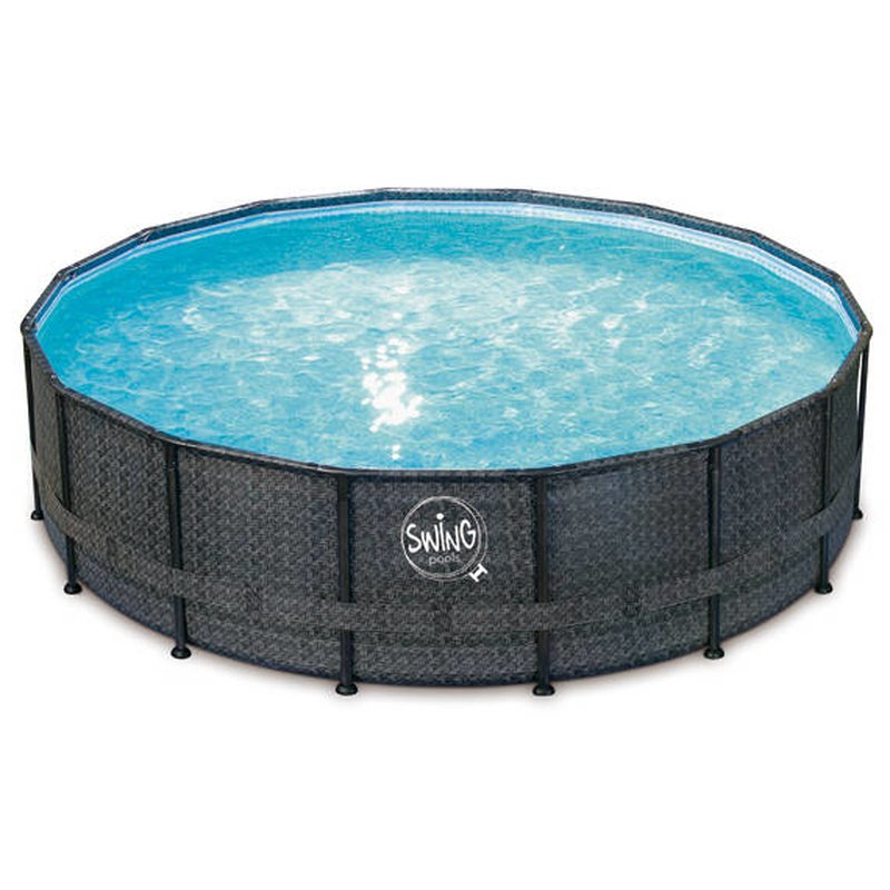 ELITE – WICKER FRAME SWING® Pools