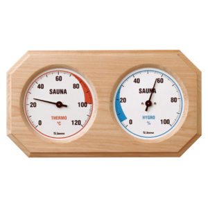 Sauna-Hygrothermometer (Holz)