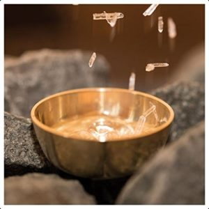 Sauna Verdampferschale (plus 10g Mentholkristalle)